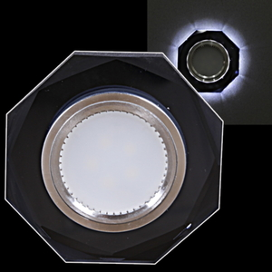 Спот Reluce 16302-9.0-001LF MR16+LED3W BK